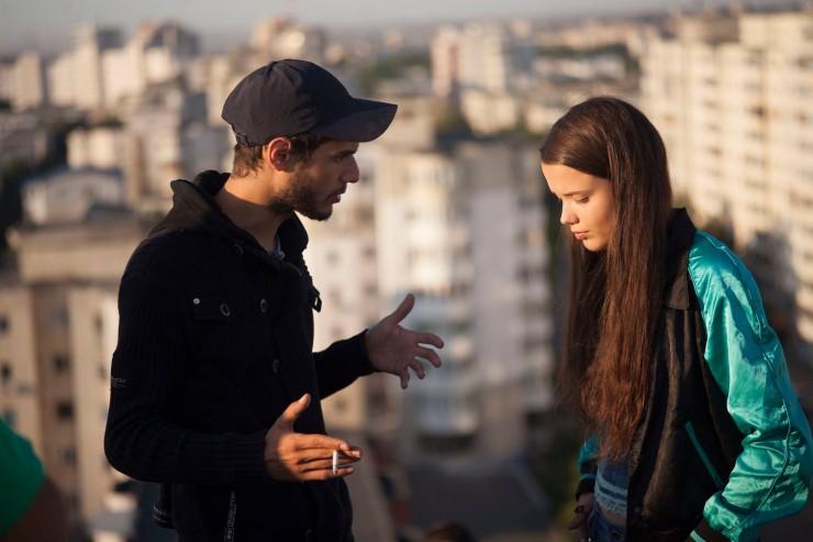 Nicolae Constantin Tanase, la filmarile pentru Lumea e a mea