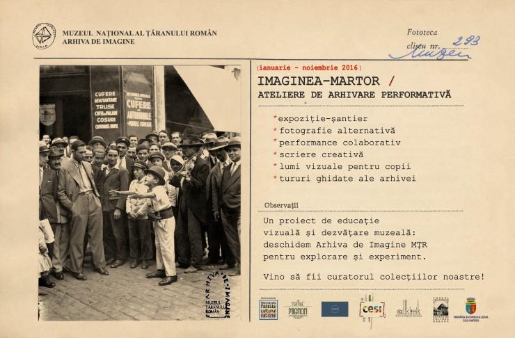 afis muzeul taranului